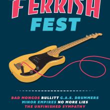 Ferrish Fest. Um projeto de Design gráfico e Ilustração de Xavier Calvet Sabala - 11.12.2016