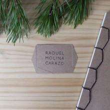 Identidad visual handmade personal. Un proyecto de Diseño, Artesanía, Diseño de interiores y Papercraft de Raquel Molina Carazo - 14.12.2016