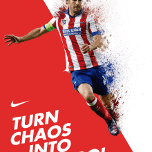 Nike Poster. Un proyecto de Diseño gráfico de Laura Colored - 13.12.2016