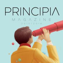 PRINCIPIA 2015-2016. Un projet de Conception éditoriale et Illustration de Laura Wächter - 20.12.2016