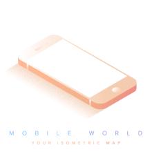 Mobile World. Um projeto de Design, Ilustração, Design gráfico e Arte urbana de Victor Belinatti - 27.12.2016