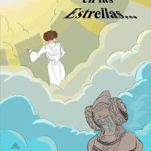 In Memoriam Carrie Fisher. Un proyecto de Ilustración, Bellas Artes, Cómic y Cine de Alejandro Fuentes Alonso - 28.12.2016