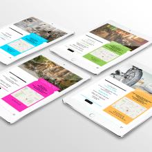 Diseño Guía Digital - Multiespacio Madrid. Un proyecto de Br, ing e Identidad y Diseño gráfico de María Criado - 19.09.2013