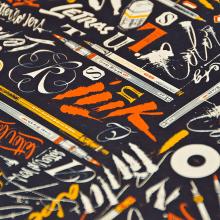 World of Letters. Un proyecto de Ilustración, Diseño gráfico, Diseño de producto y Caligrafía de Yani&Guille - 09.01.2017
