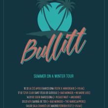 Bullitt - Summer On a Winter Tour. Um projeto de Design gráfico e Ilustração de Xavier Calvet Sabala - 14.12.2016