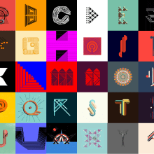 36 day soft type (2016). A Illustration, T, pografie und Grafikdesign project by Erich Gordon - 17.04.2016
