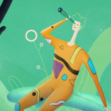 Wild Explorer. A Art Direction, Character Design & Illustration project by Andrea Gendusa - 01.18.2017