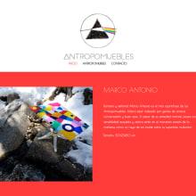 Antropomuebles. Um projeto de Design gráfico e Web design de Diana Creativa - 19.12.2016