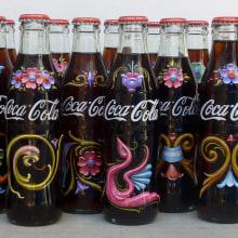 Botellas de Coca Cola. Um projeto de Publicidade, Br, ing e Identidade e Pintura de Alfredo Genovese - 21.01.2017