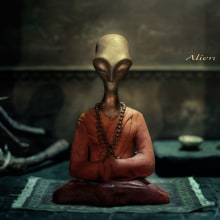 Alien in Khasi.. Un proyecto de Ilustración de Paco Serén - 24.01.2017