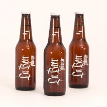 La Beer. Un proyecto de Tipografía y Caligrafía de Aurora Pintado - 29.01.2017