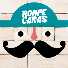Rompe Caras Puzzle. A Illustration, Game Design, To, and Design project by mopisio - 02.01.2017