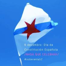 \ Nada que celebrar \ 6 de decembro, día da Constitución española \. Un proyecto de Publicidad de Xosé Maria Torné - 05.12.2014