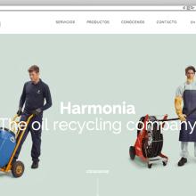 Web corporativa para Harmonia Energy. Un proyecto de Desarrollo Web de rseoaneb - 14.09.2015
