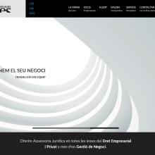 Renovación de la web corporativa de Més Advocats. Un proyecto de Desarrollo Web de rseoaneb - 14.09.2015