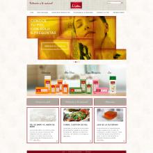 Web corporativa para Jabones Lida. Un proyecto de Marketing y Desarrollo Web de rseoaneb - 15.09.2015