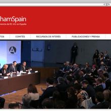 Funcionalidades para AmCham Spain. Un proyecto de Desarrollo Web de rseoaneb - 15.03.2015