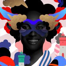 "Propuesta Cartel, ""Carnaval de Cartagena 2017"". Um projeto de Design gráfico e Publicidade de Adolfo Correa - 09.02.2017"