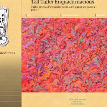 Web con catálogo de productos para Tall Taller. Un proyecto de Desarrollo Web de rseoaneb - 15.06.2014
