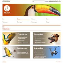 Web para la consutoría veterinaria Yolcati. Un proyecto de Desarrollo Web de rseoaneb - 15.01.2013