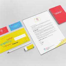 Identidad Corporativa ThemWords. A Design, Br, ing & Identit project by Gabriela Zapata - 02.14.2016