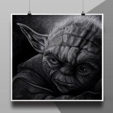 Ilustración Yoda. A Illustration project by Gabriela Zapata - 02.15.2014