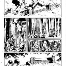 Paginas de cómic. A Comic project by Jaime Sánchez Molina - 02.22.2017