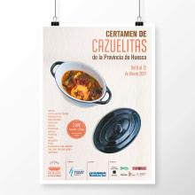 Certamen de Cazuelitas de la Provincia de Huesca 2017. Um projeto de Fotografia, Design gráfico e Vídeo de Sara Palacino Suelves - 01.03.2017