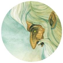 Las mil y una noches. A Illustration project by Daniel Montero Galán - 03.06.2017