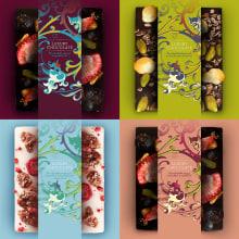Diseño de paquete de chocolate. A Design, Graphic Design, and Packaging project by Fanni Takacs - 02.12.2017