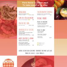 Menus restaurante. Un proyecto de Diseño gráfico de Tamara Jiménez Miguel - 05.11.2016