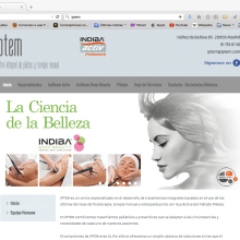 Web Iptem. Un proyecto de Diseño Web de Tamara Jiménez Miguel - 16.05.2015