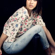 Proyecto Editoria, Tamara Balsa: Miss World Pontevedra. A Mode project by Nuria Atanes Bouzón - 14.03.2017