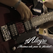 Práctica 2 - Allegro Taller Musical. A Design project by Melissa Botero - 03.16.2017