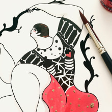 Inside Love. A Illustration, Fine Art, and Screen-printing project by Sonia Alins Miguel - 02.27.2017