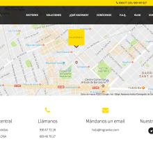 Web Ingravika. Un proyecto de Desarrollo Web de Ana Ruiz - 05.02.2016