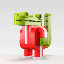 Minimals on Kickstarter. Um projeto de Design de personagens, Design de jogos, Design de produtos e Design de brinquedos de bastianbestia - 29.03.2013