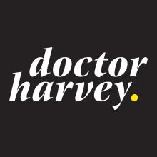 Doctor harvey. Clínicas de ortodoncia invisible.. A Grafikdesign und Naming project by nueve - 06.04.2017