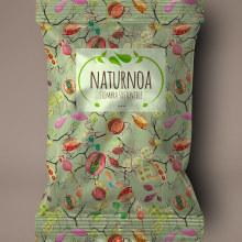 Mi Proyecto del curso: Motivos para repetir. Packaging para Naturnoa (siembra sostenible). A Illustration project by Ana Cerezo - 04.09.2017