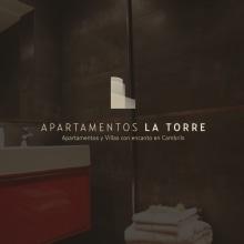 BRANDING - Apartamentos La Torre Cambrils. A Design, Br, ing, Identit, and Graphic Design project by Concepción Domingo Ragel - 01.25.2017