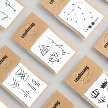 #coolwaytattoo. Un proyecto de Diseño, Ilustración, Diseño gráfico y Packaging de María García - 20.01.2015