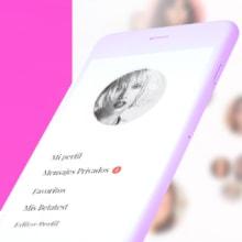 Charhadas. Social Network for Mothers. Un proyecto de UI / UX, Diseño interactivo y Diseño Web de Redbility - 10.01.2017
