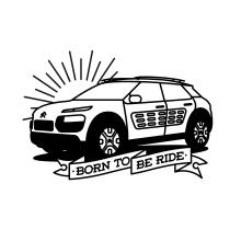 Citroën C4 Cactus by Bnomio. Un proyecto de Diseño, Ilustración, Publicidad, Dirección de arte, Eventos, Diseño gráfico, Pintura, Vídeo, Televisión y Arte urbano de Bnomio ™ - 27.03.2017