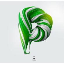 Candy Types. Un proyecto de Diseño, Ilustración, 3D, Diseño gráfico, Tipografía, Caligrafía y Lettering de Maikel Martínez Pupo - 02.05.2017