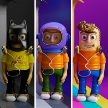 Mi Proyecto del curso: Diseño de personajes en Cinema 4D: del boceto a la impresión 3D. Un proyecto de Diseño de personajes de Belén Tarcaya - 05.05.2017