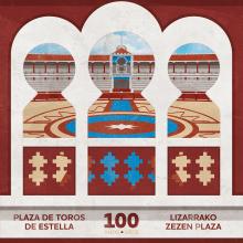 CARTEL - Centenario Plaza de Toros Estella. A Design, Illustration, Graphic Design, and Vector Illustration project by Concepción Domingo Ragel - 05.05.2017