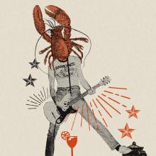 Bilbao Rock Gourmet. Um projeto de Direção de arte, Design gráfico, Colagem, Cop e writing de Marilu Rodriguez Vita - 09.05.2017