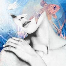 Chione. Un proyecto de Ilustración, Dirección de arte y Bellas Artes de Lucía Paniagua - 11.05.2017