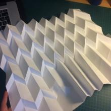 Lámparas de origami.. Um projeto de Artes plásticas de Marisol Ormanns - 11.05.2017
