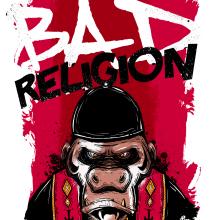 Bad Religion Poster Band. Un progetto di Illustrazione di carlos gala (charly) - 19.05.2017
